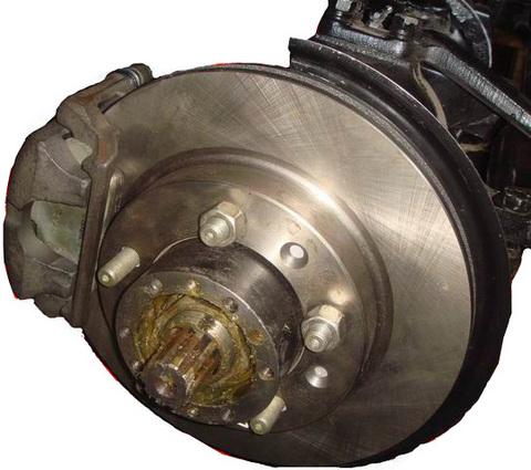 Как сделать передние дисковые тормоза на уаз117
