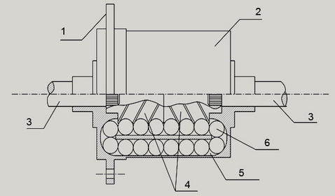Блокировка ДАК, схема.