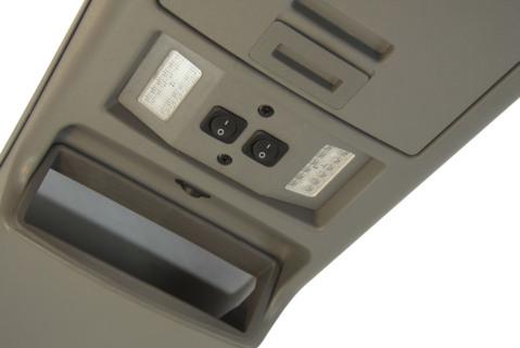 Потолочная консоль  LED п