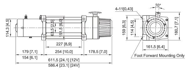 DV-12s light